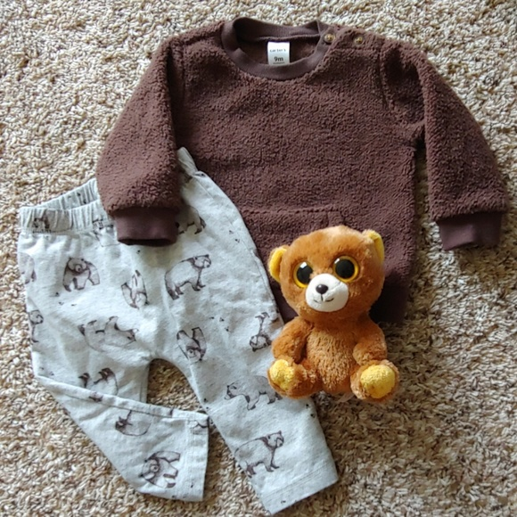 Carter's Other - Carter's Bear Outfit- baby clothes